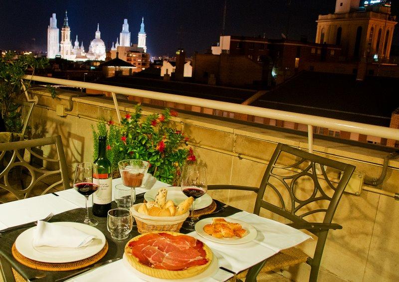 Apartamentos en Zaragoza experimentan un auge de sus terrazas en verano