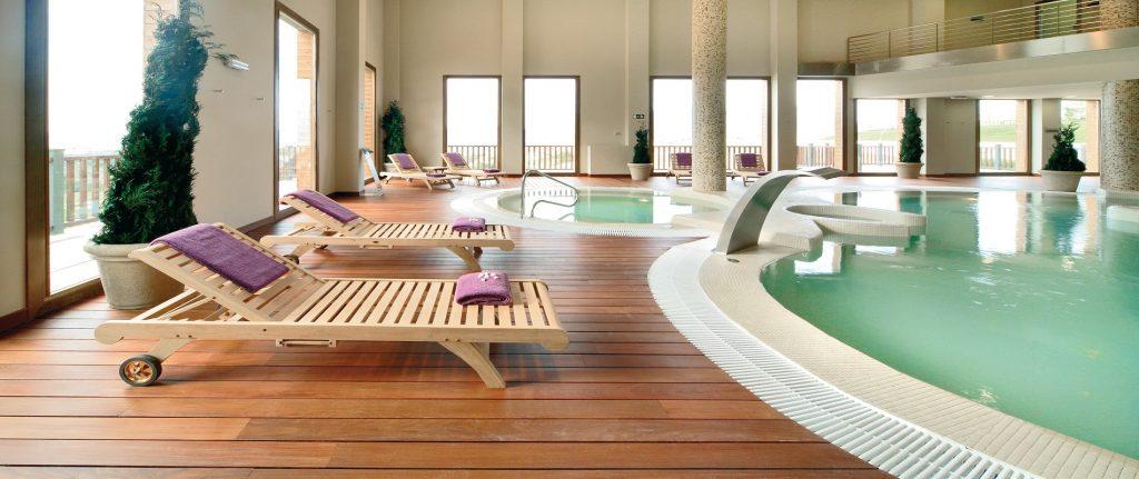 Disfrute de un fin de semana de esquí en Candanchú- El spa del Hotel Jaca-Bdaguás ofrece una gran experiencia