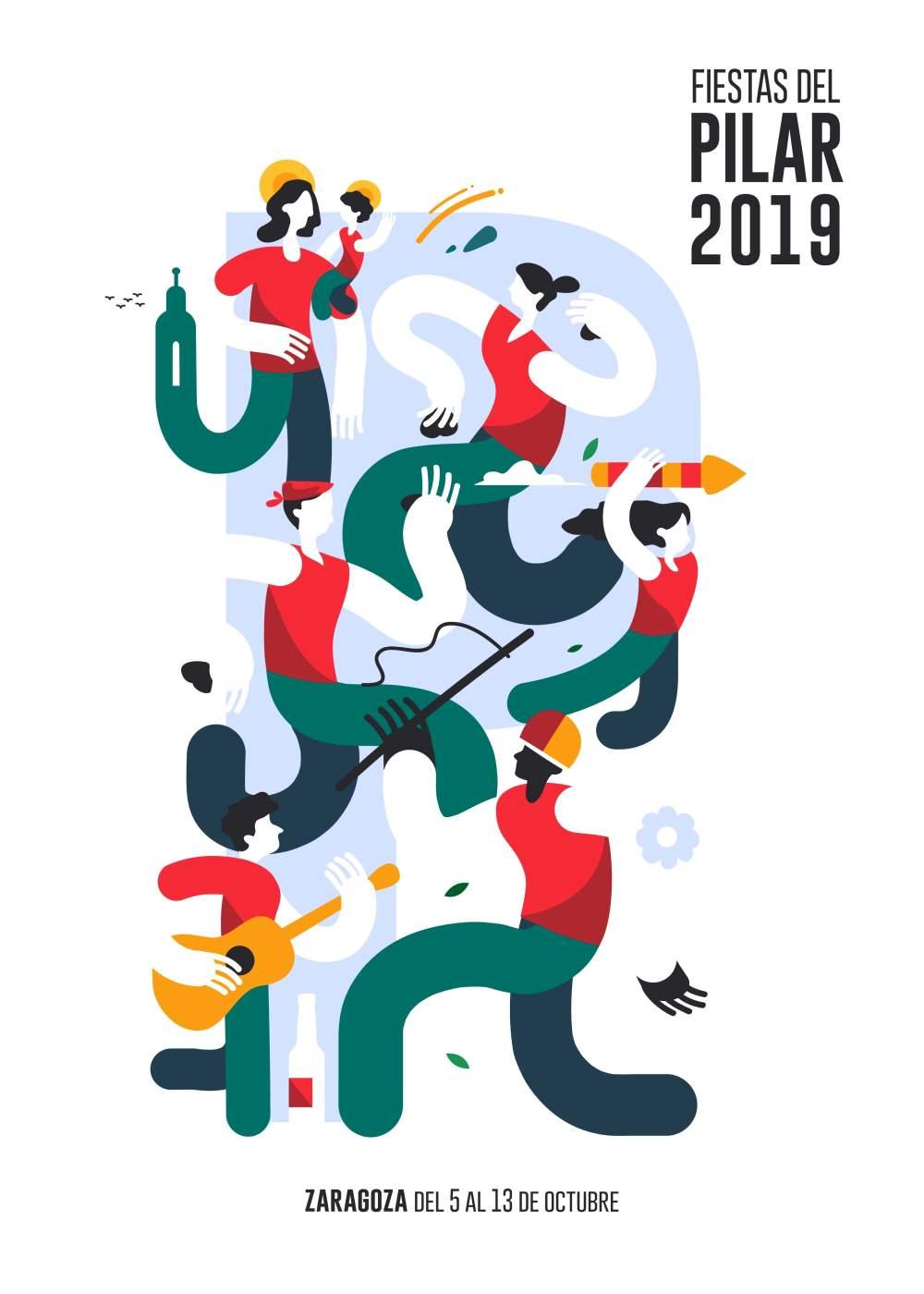 Fiestas del Pilar 2019 en Zaragoza- Programa de actos principales