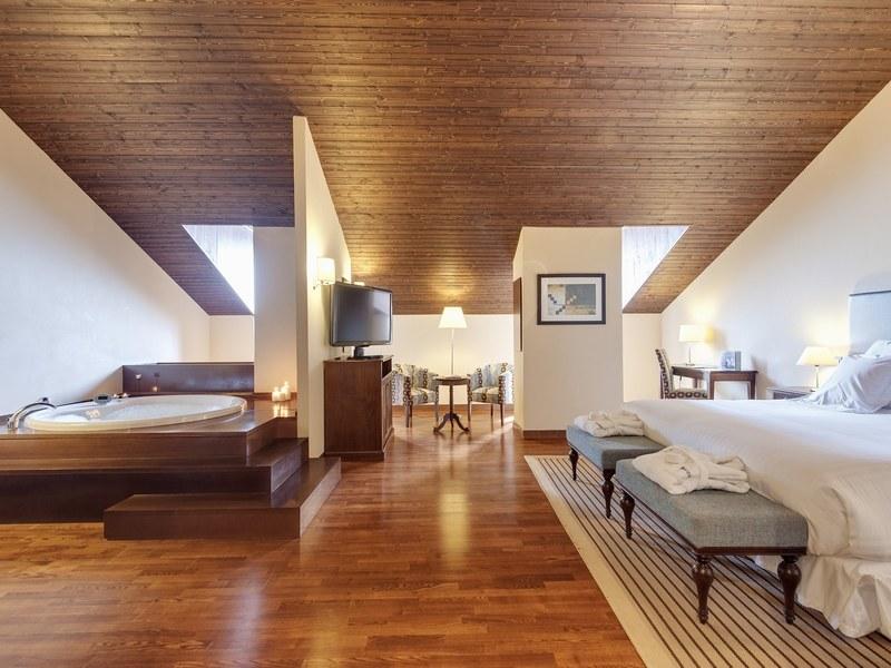 suite con jacuzzi en badaguas - pirineo aragones