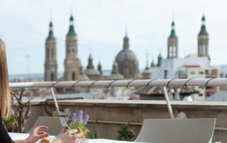 restaurante con terraza en zaragoza